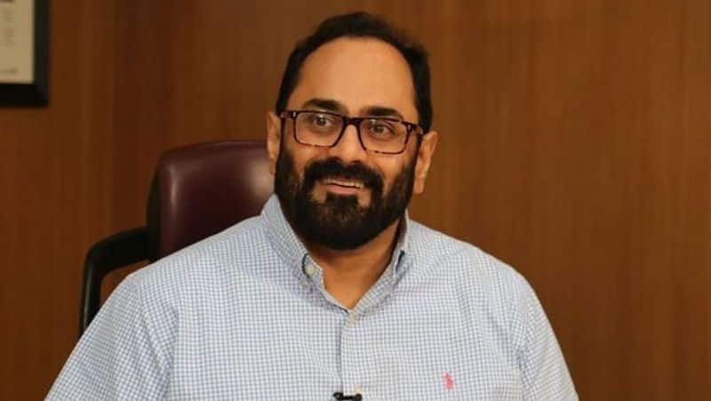 MP Rajeev Chandrasekhar reiterates supremacy of Constitution as social media faces charges of muzzling voices