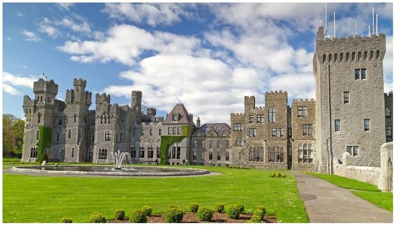 Couple spends lock down days in a castle