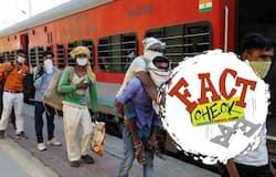 <p>Shramik Trains</p>