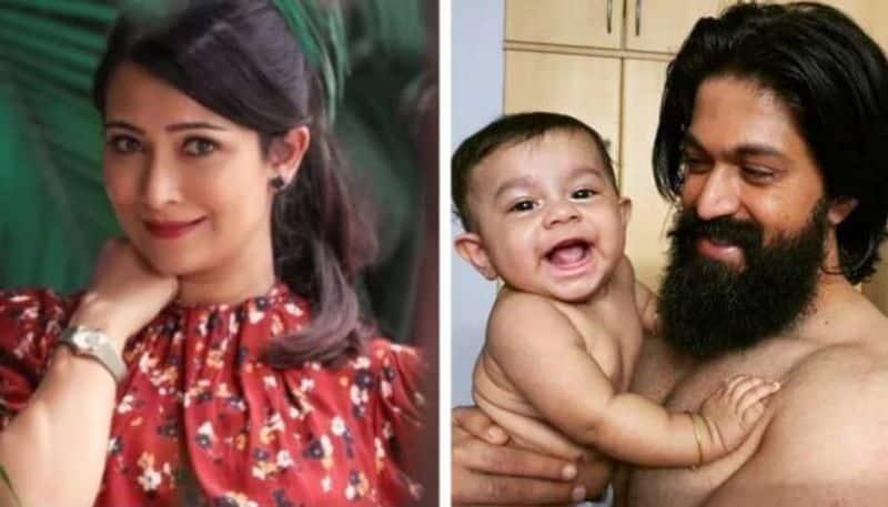 Radhika Pandit shares adorable photo of Yash and their son