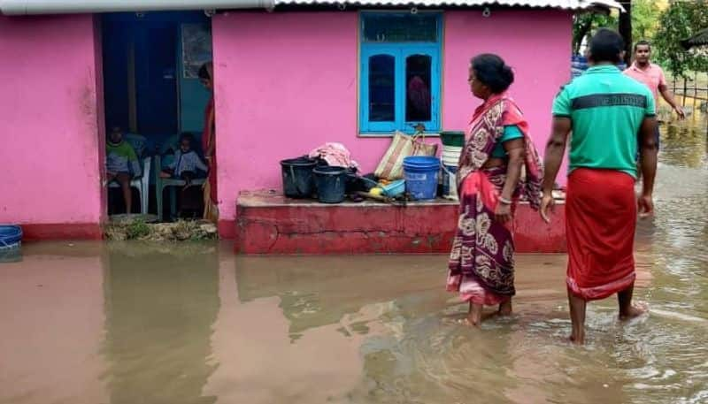 Midnapore people faces trouble for heavy rain last night