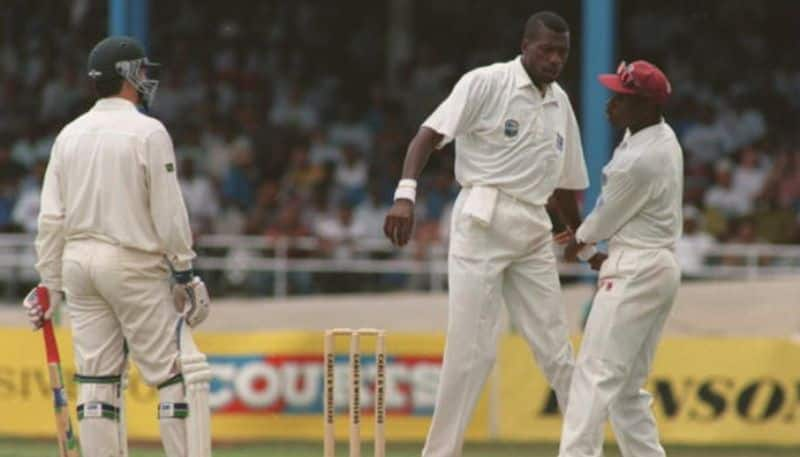 Curtly Ambrose wanted to end Steve Waugh's career with a punch