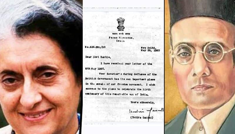From the archives Indira Gandhis acknowledgement of Savarkars contribution should be a lesson for Congress