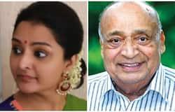 <p>Manju Warrier and M P Veerendrakumar</p>