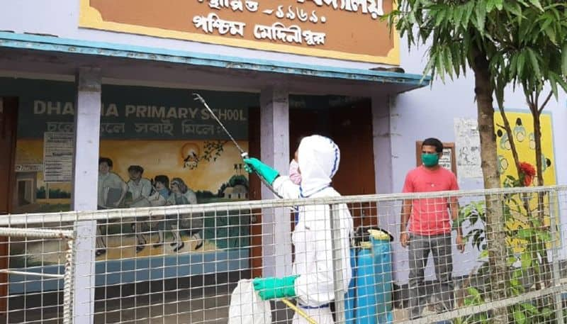 Sanitization has started in West Midnapore schools