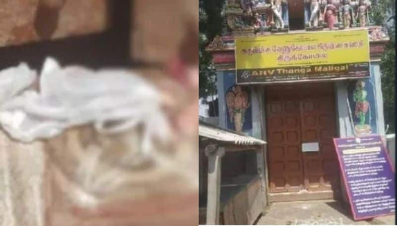 Man arrested for placing meat in front of Coimbatore temples