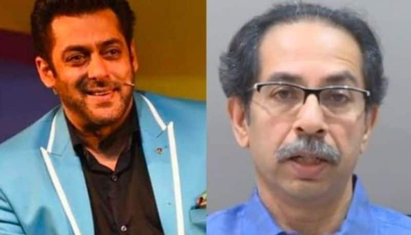 Salman Khan gets laud from Uddhav Thackeray for his distributing one lakh sanitizers to Mumbai Police