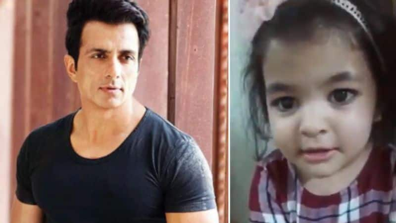 a girl child request to sonu sood for sending her mom to grand mother place