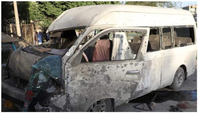Journalist killed in Kabul bomb blast targeting TV workers