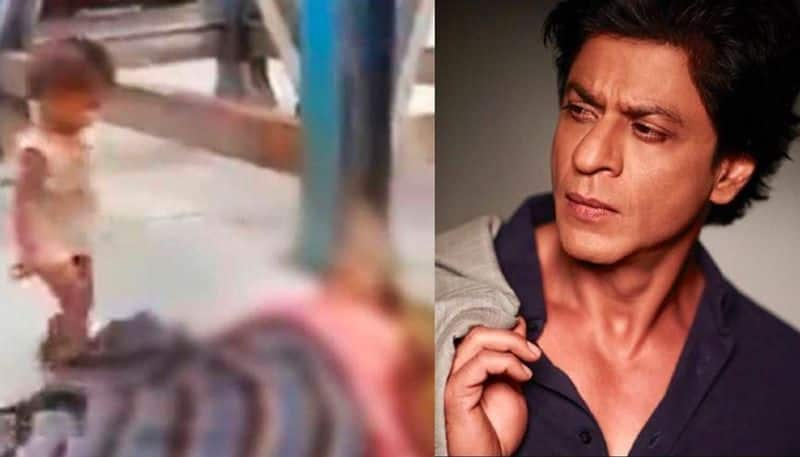 Shah Rukh Khan's foundation helped the child who tried to wake up his deceased mother