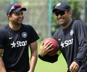 it hurts a lot, When people equate my connection with  Dhoni says Raina