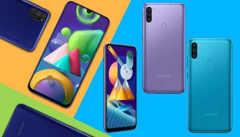 Samsung Galaxy M11 and M01 Smartphone launch India today