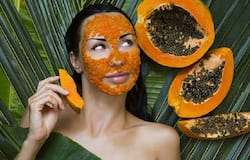 <p>papaya face pack</p>