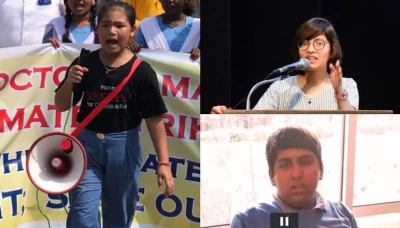 Three young Indian climate fighters who are fighting to protect the environment