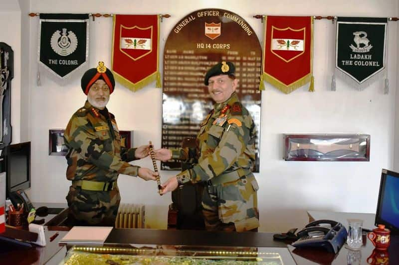 Lt Gen Harinder Singh and chinese armies will be meeting this week to defuse tensions