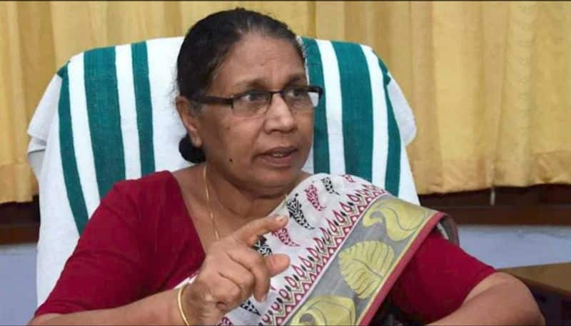 Kerala womens panel chief Josephine declares her party CPIM is both police and court