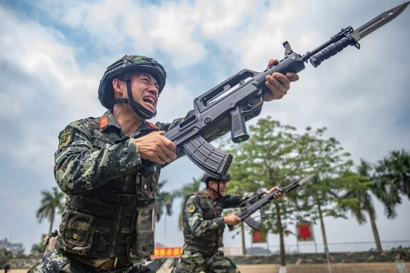 Huge number of China troops enter Ladakh Border