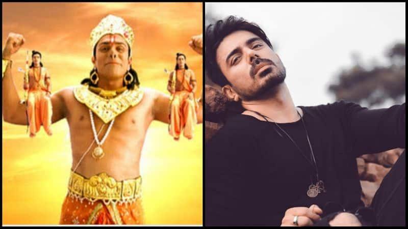 <p><b>Vikram Mastal as Hanuman</b></p>
