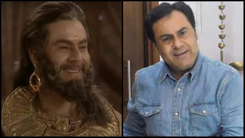 <p><b>&nbsp;&nbsp;</b><b>Punkaj Kalraa as King Dasharatha</b></p>