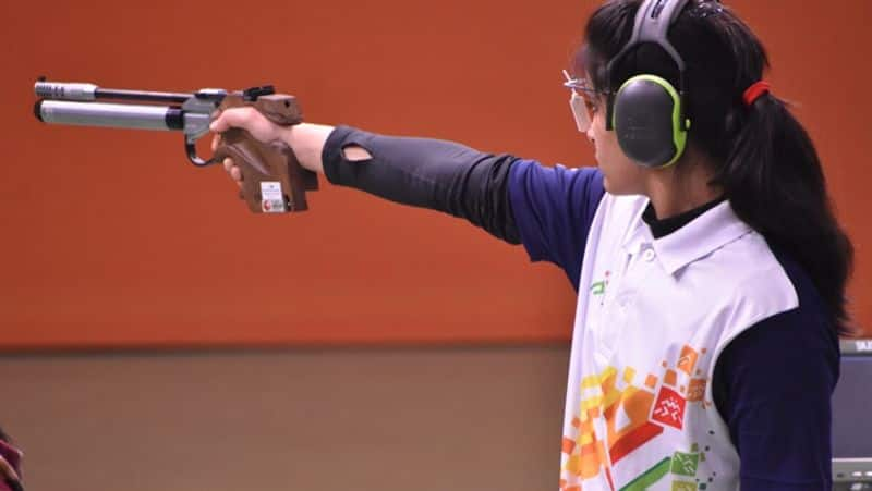 Tokyo 2020 Olympics, Manu Bhaker finished 5th in Qualification Precision Round in 25m Air Pistol spb