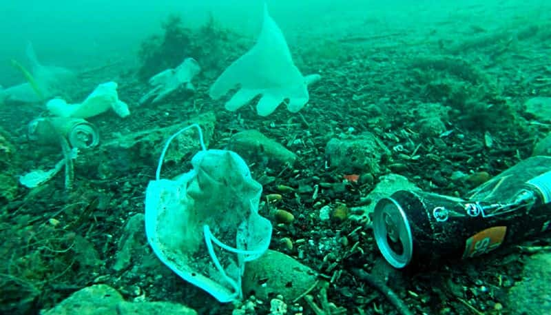 There s a new item being dumped into ocean as waste, face masks and gloves
