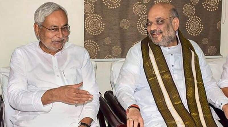 Negotiations on seats in BJP and JDU for Bihar assembly elections begin
