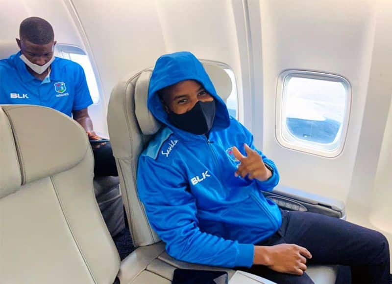 West Indies Arrive In England For 3 match series test series