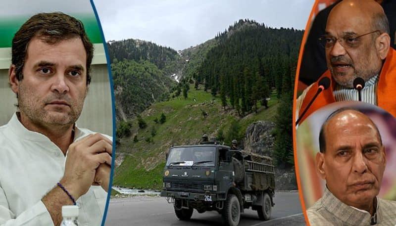 Rahul vs BJP continues poetry politics on ladakh issue