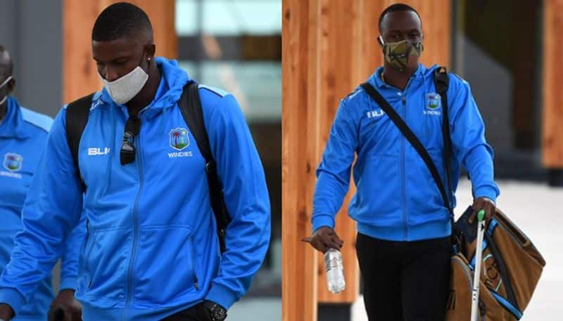 West Indies cricket team arrived in England to play a historic series