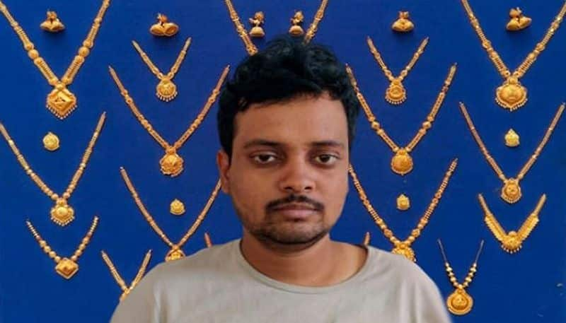 gold theft accused arrested By Bengaluru nandini layout Police