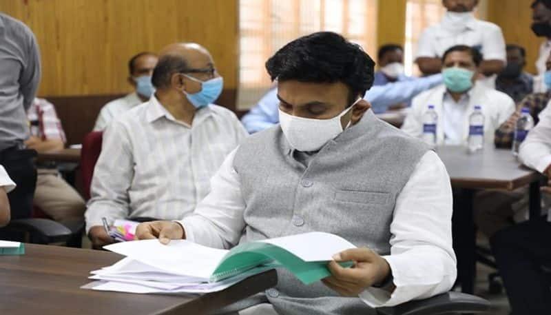 Soon Will Decide On Providing Coronavirus Treatment In Private Hospitals Says Minister Dr K Sudhakar