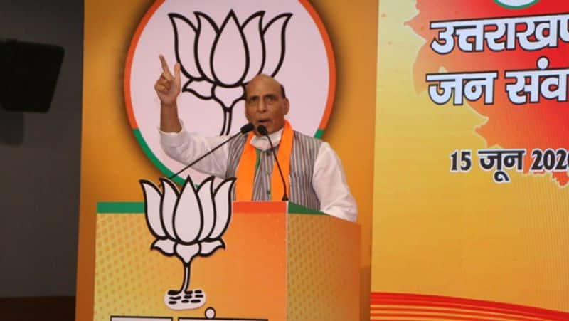 Amid border row, Rajnath Singh says Indo-Nepal ties bound together by 'roti-beti', can't be broken