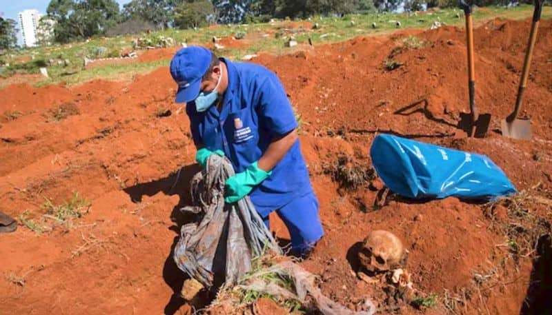 Brazil Sao Paulo to disinter bodies to accommodate corpses of fresh COVID-19 cases