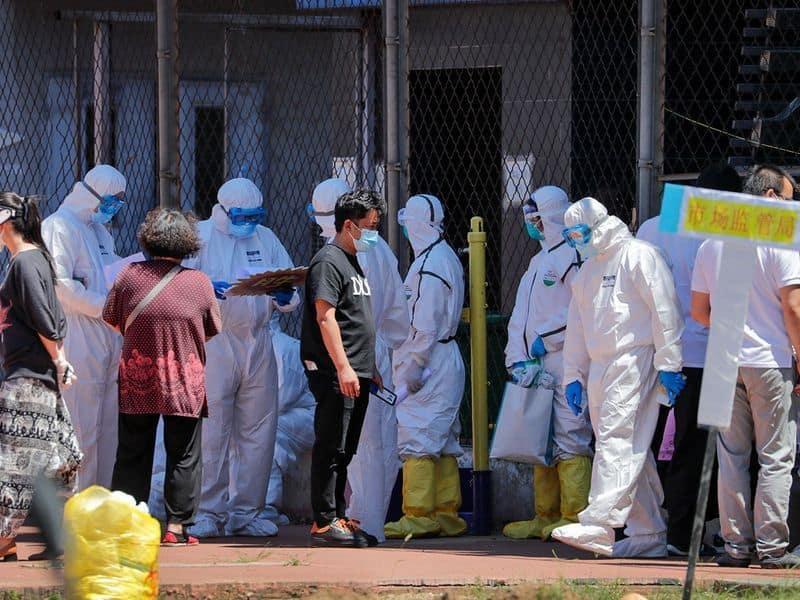 Coronavirus outbreak in Beijing passes 100 cases China