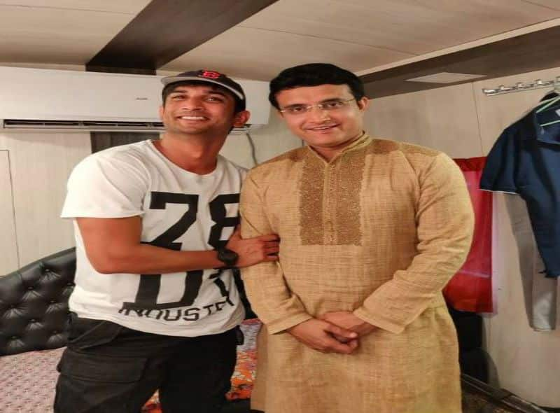 Sourav Ganguly has not yet forgotten the grief of Sushant Singh Rajput's death bsp