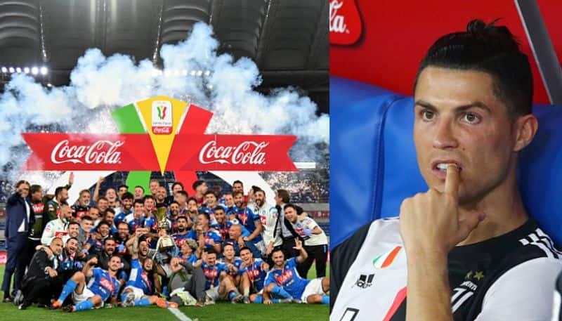 Ronaldos Juventus lost the Copa Italia final to Napoli in tie-breaker