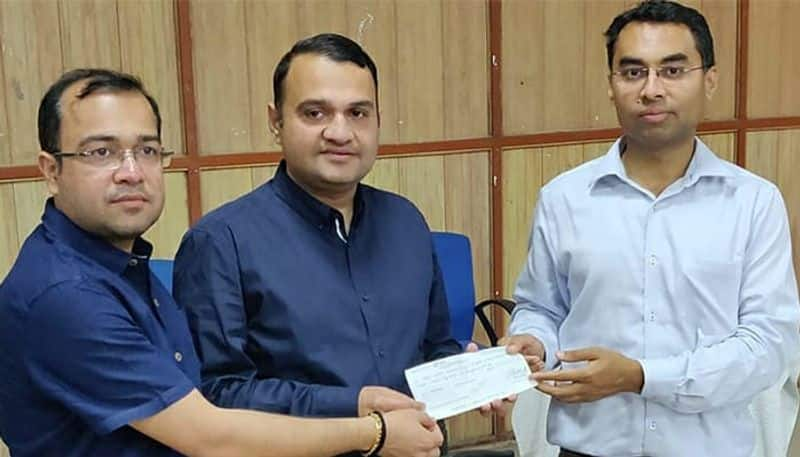 Utkarsh Classes founder Nirmal Gehlot makes a contribution of whopping Rs 21 lakh  in COVID-19 crisis
