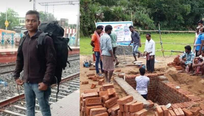 indo china martyr Rajesh oraos cremation held at his own village in Birbhum