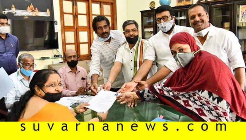 Vidhan Parishat Election Congress Candidate Nasir Ahmad Declare his Property Details