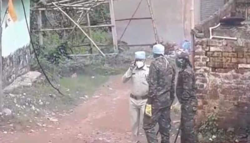 Blast at a quarantine  centre at Howrah TG