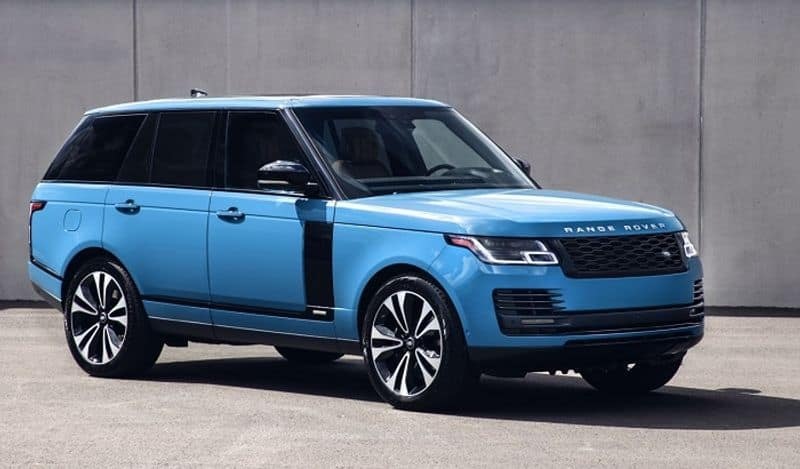 Range rover marks 50 years luxury with exclusive new limited edition launch