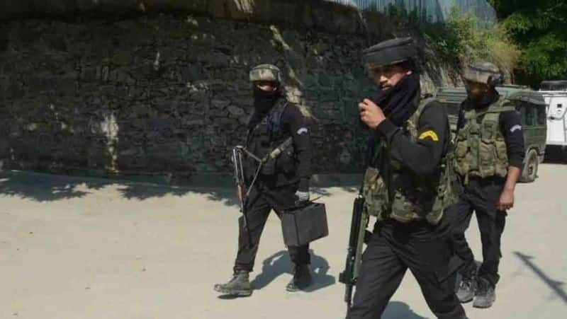 BJP leader his father and brother shot dead in Kashmir cops arrest his security guards BSS