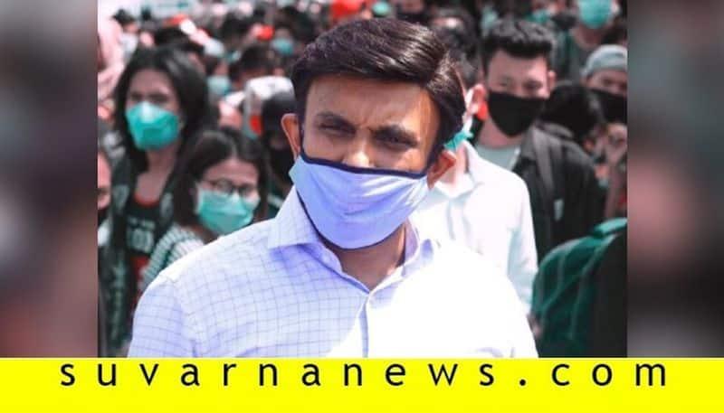 Minister Dr K sudhakar House cook tests positive for coronavirus