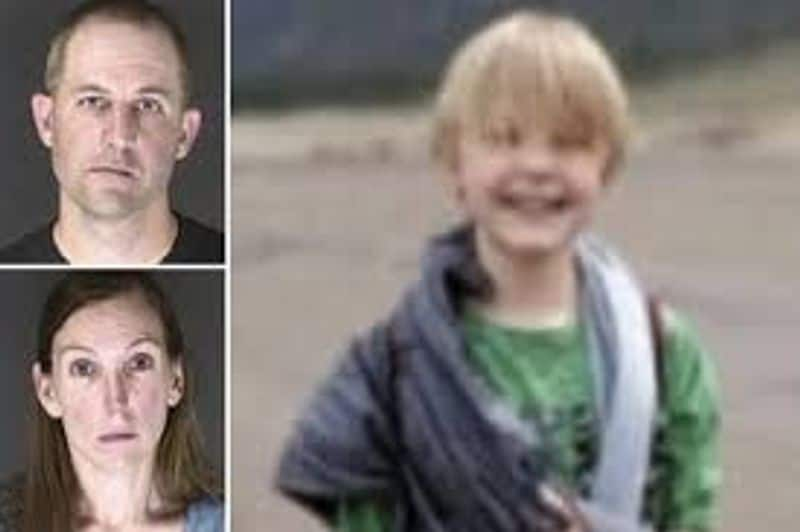 parents arrested for causing death of 11 year old son by forced water intoxification