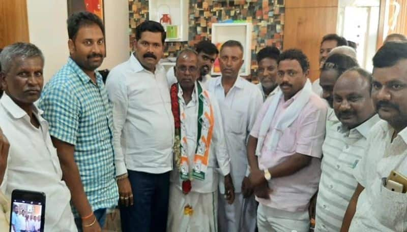 Fakeerappa Back To Congress Party in Gangavati in Koppal District