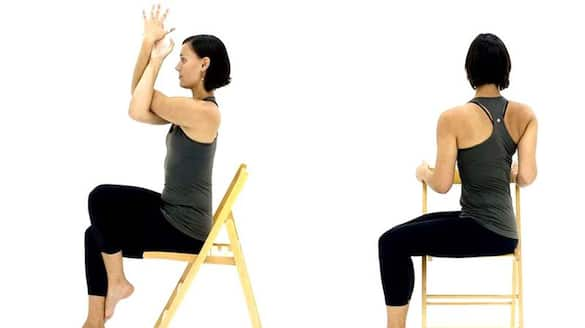 Is desk job giving you back or neck pain? 5 chair yoga poses that can improve your posture RCB