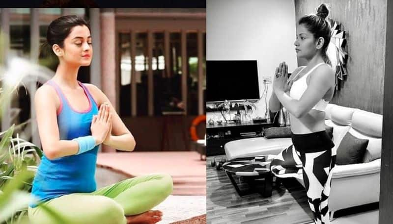 tollywood stars gives fitness tips on International yoga day 2020 JC