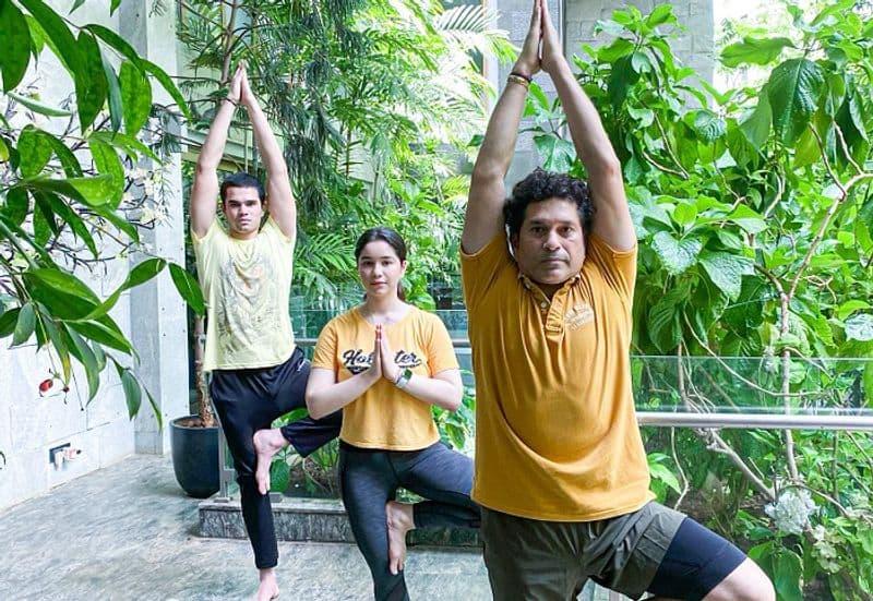 Indian sports stars Celebrates International Yoga Day