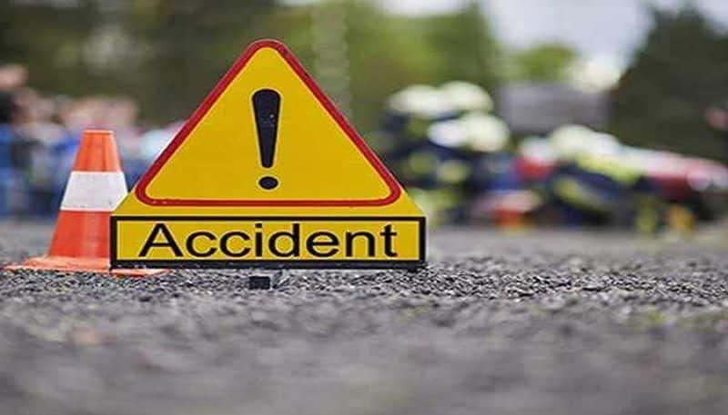 Bike Accident in Devdurga in Raichuru District