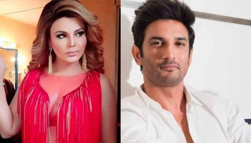 Rakhi Sawant claims to have a dream about Sushant Singh Rajput AD